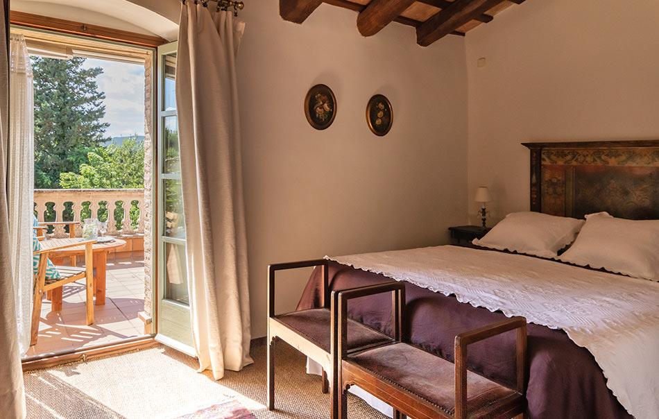 habitación Romaní - hotel el Palauet de Monells